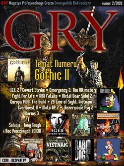GRY Numer 2/2003 - Dla GOLMAX i MayClub