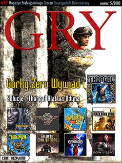 GRY Numer  5/2003  - Dla GOLMAX i MayClub
