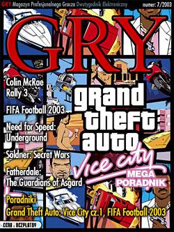 GRY Numer  7/2003  - Dla GOLMAX i MayClub