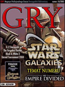 GRY Numer  10/2003  - Dla GOLMAX i MayClub
