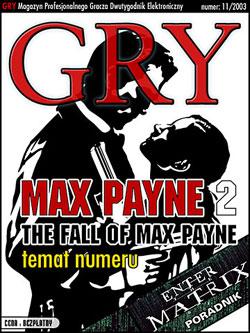 GRY Numer  11/2003  - Dla GOLMAX i MayClub